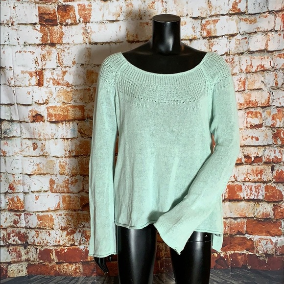 Anthropologie Sweaters - Anthropologie Moth Light Blue Knit Sweater